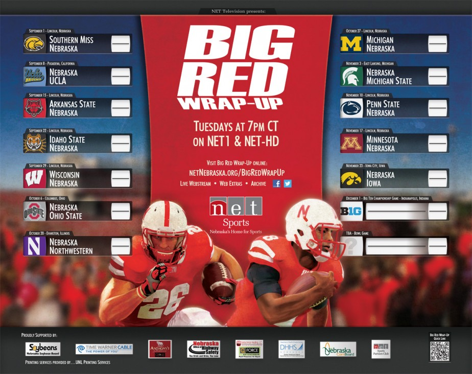 2012 Big Red Wrap-Up Poster