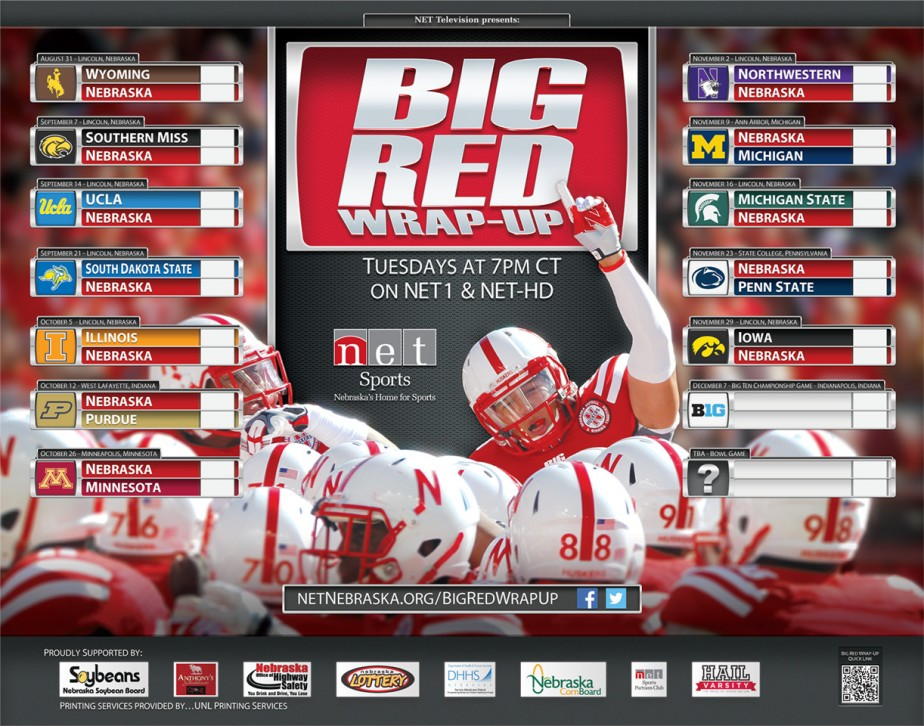 2013 Big Red Wrap-Up Poster