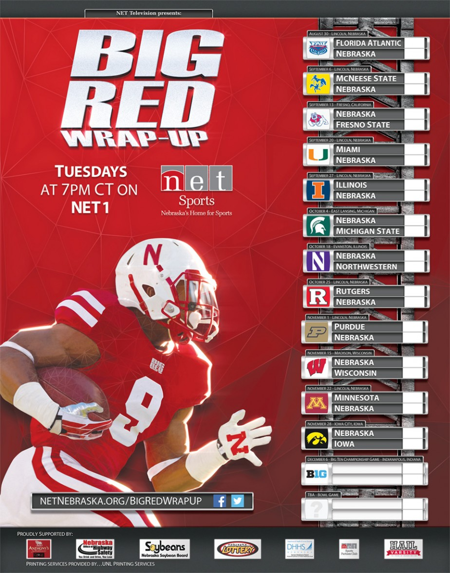 2014 Big Red Wrap-Up Poster