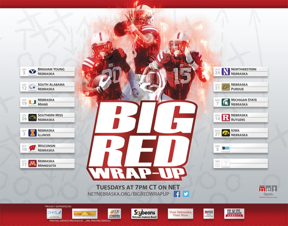 2015 Big Red Wrap-Up Poster
